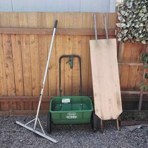 Lot 154-D:  Yard Care and Easy Lift Board