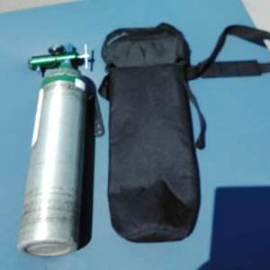 Lot 169-D:  Oxygen Tank and Regulator w/ Case #4