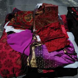Lot 173-D:  HUGE Lot of Asian / Eastern Themed Fabric
