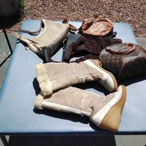 Lot 177-D:  Louis Vuitton, SAK and More Purses Bags