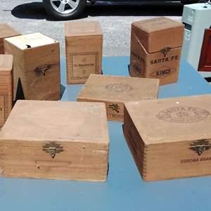 Lot 182-D:  Cigar Box Lot