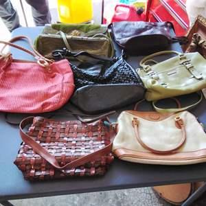 Lot 191-D:  Another Purse & Bag Lot