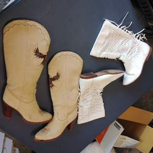 Lot 208-D:  O Tonto Boots and Zodiak Boots