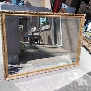 Lot 216-D:  47x35 Mirror