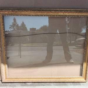 Lot 224-D:  Large Picture Frame with Glass