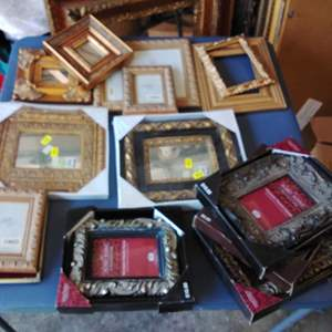 Lot 227-D:  Another Lot of Many New Picture Frames