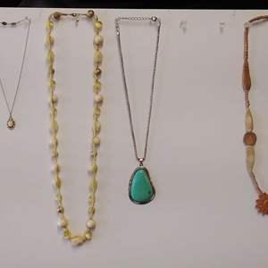 Lot 235-D:  Necklace Lot #1
