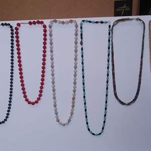 Lot 237-D:  Necklace Lot #3