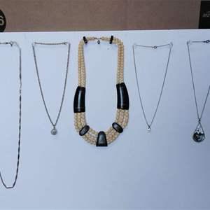 Lot 239-D:  Necklace Lot #5