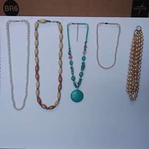 Lot 241-D:  Necklace Lot #7