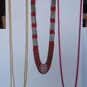 Lot 243-D:  Long Necklaces Lot #9