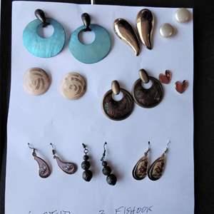 Lot 250-D:  Earring Lot #6