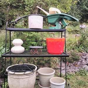 Lot 263-W:  Planter Pots