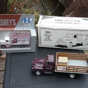 Lot 270-L:  Hersheys Collectible Trucks