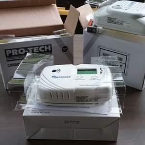 Lot #279-D:  3 NEW Carbon monoxide Detectors