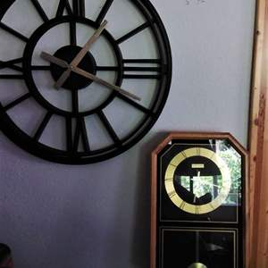 Lot # 291 - Linden Clock and 1 other