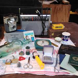 Lot # 294  Junk Drawer Collectibles Lot