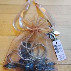 Lot # 299 - CHICO Necklace Blue Stone Tassel