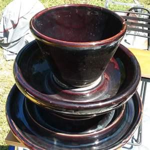Lot # 303 Antique Thomas 35 Ceramic Insulator 12H x 14W