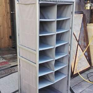 Lot #312 - Really Great Portable Storage Rack like NEW!
