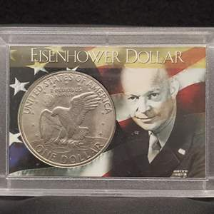 Lot 6 - 1972 Eisenhower Dollar, slabbed