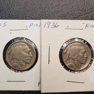 Lot 30 - 1930-S and 1936 Buffalo Nickels