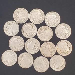 Lot 31 - Buffalo Nickel Collection