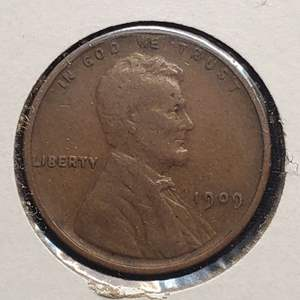 Lot 36 - 1909 Lincoln Wheat Cent, First Year of Issue