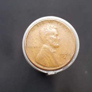 Lot 45 - 1950's roll of Lincoln Wheat Cents