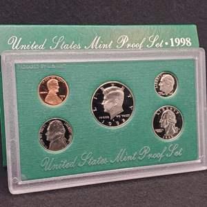 Lot 51 - 1998 United States Mint Proof Set