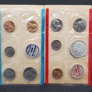 Lot 53 - 1968 P & D UNC US Coin Sets