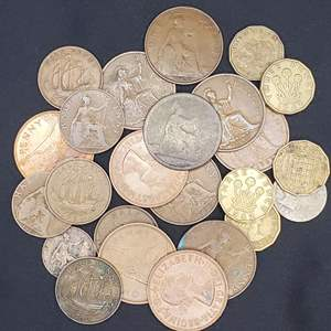 Lot 62 - Vintage British Coin Collection