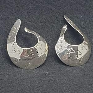 Lot 88 - Sterling Silver Ear Cuffs