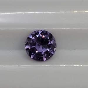 Lot 93 - 1.57ct Lab Created 7mm Color Change Sapphire, Imitation Alexandrite
