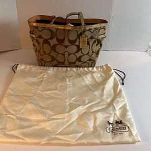 Lot # 164- Coach Handbag with Dust Bag.