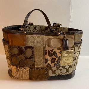 Lot # 166- Coach Handbag. Used.
