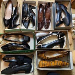 Lot # 173- Italian Dress Shoes, Designer Shoes. Shoe Horns.