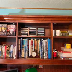 Lot # 270- Cassettes, CD's, VHS, and Books for Smart People. Curios.