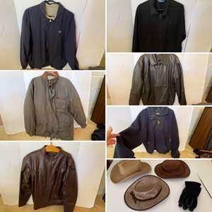 Lot # 305- Suede Hats, Leather Coats, Polo/Ralph Lauren and other Jackets.