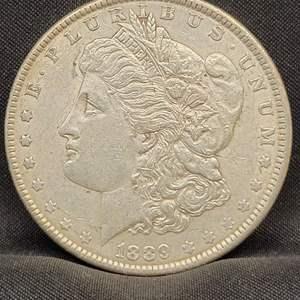 Lot 2 - 1889 Morgan Silver Dollar