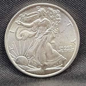 Lot 10 - 1/10 Troy oz .999 Fine Silver Walking Liberty Eagle