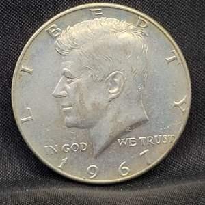 Lot 15 - 1967 Kennedy Half Dollar
