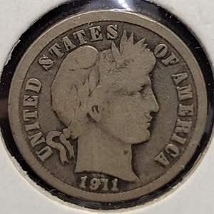 Lot 29 - 1911-P Silver Liberty Head Dime
