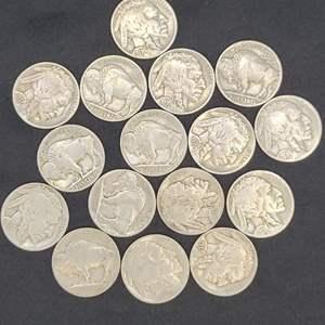 Lot 38 - Buffalo Nickel Collection