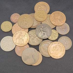 Lot 58 - Vintage British Coin Collection