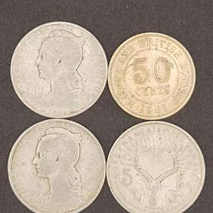 Lot 60 - Vintage Somalia and Borneo Coin Collection