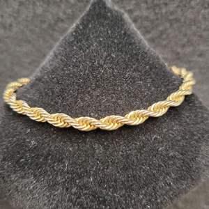 """Lot 72 - 7 1/2"""" Rope Bracelet stamped 14K Gold Filled"""