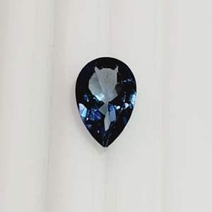 Lot 81 - Genuine London Blue Topaz Pear Faceted Cut Gemstone, 3.48 ct, 12 x 8 mm