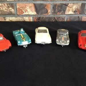 Lot #67 - Five Really Cool Vintage Strombecker Slot Cars