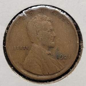 Lot 48 - 1921-S Lincoln Wheat Cent
